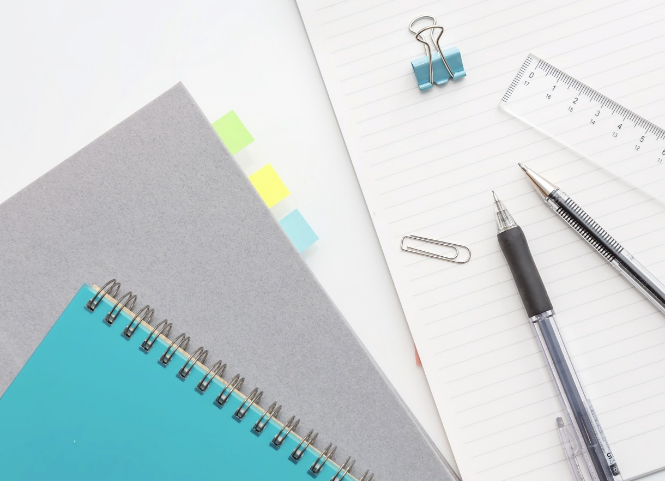 筆記用具|モデルハウス見学の持ち物
