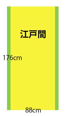 【江戸間】畳の種類と広さ