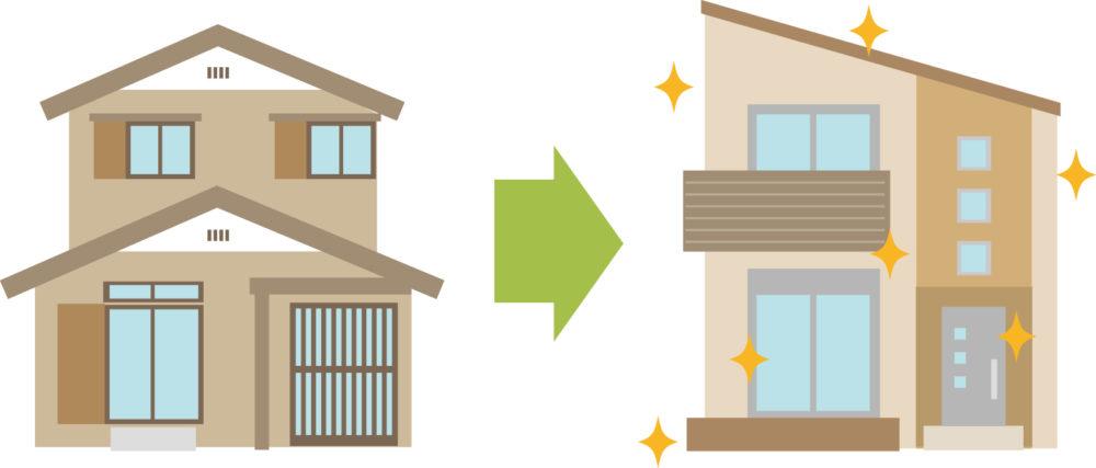 【リフォーム・増築】戸建て・マンション比較表