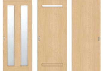 【窓付きのドアに変更】部屋を明るくする方法
