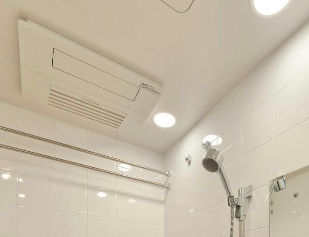 浴室暖房乾燥機 室内温度差を軽減する