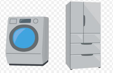 冷蔵庫 洗濯機 水抜きと乾燥