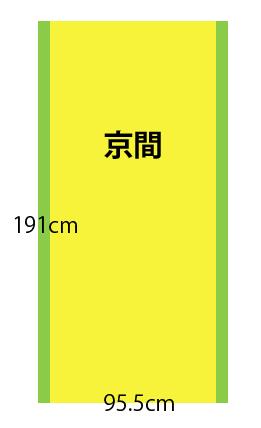 【京間】畳の種類と広さ