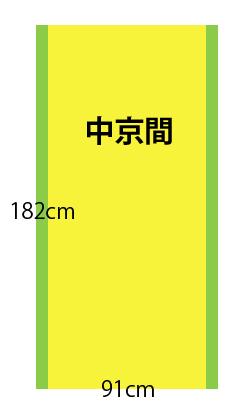 【中京間】畳の種類と広さ