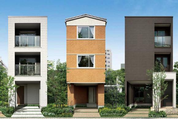 3階建ての家 用途地域