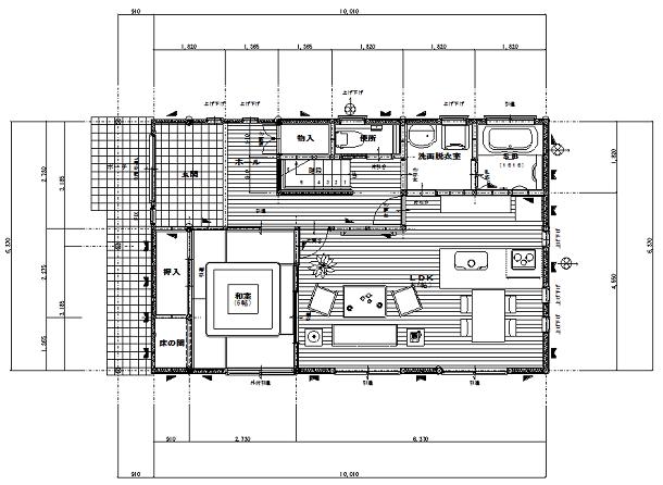 【平面図】設計図面の見方・チェックポイント