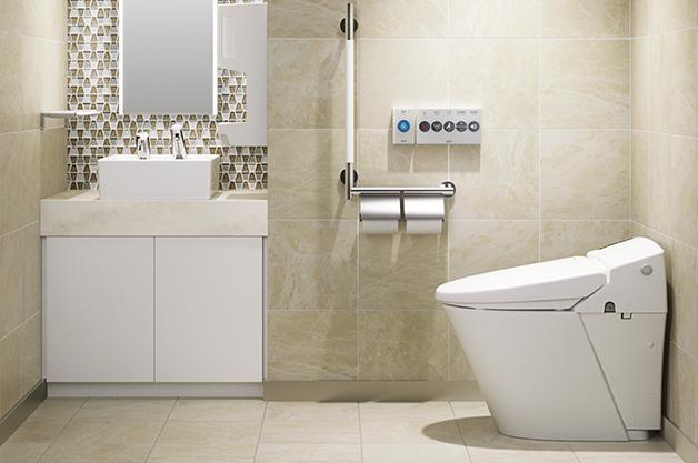 トイレ ハウスメーカーで標準で付いてくる設備の一例