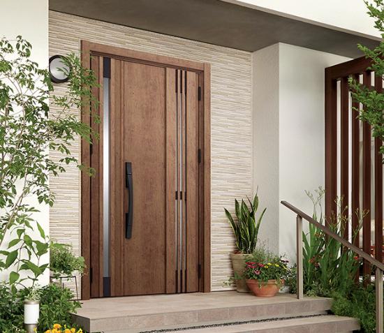 親子ドア 玄関ドアの形
