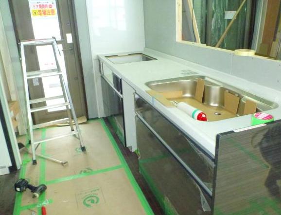 【設備機器設置工事】新築工事・工程