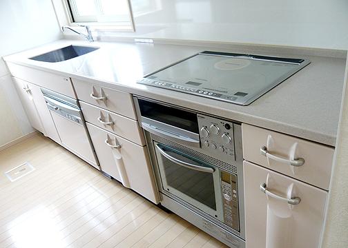 キッチン ハウスメーカーで標準で付いてくる設備の一例