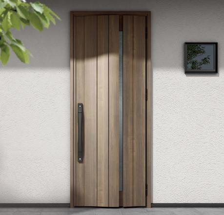 シングルドア 玄関ドアの形