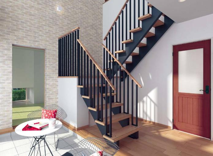 階段の種類 おしゃれな階段