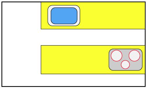 II型キッチン(セパレート型)