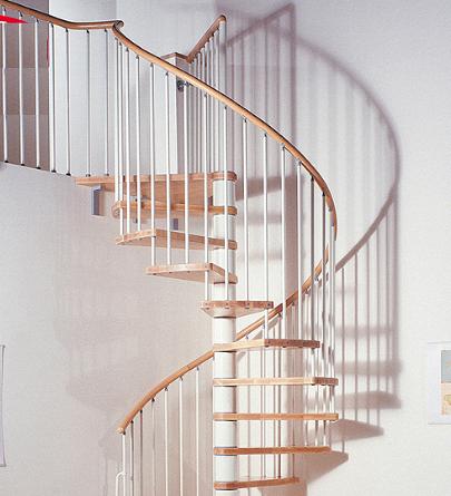 らせん階段 階段の種類