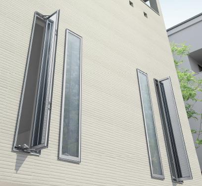 【スリット窓】戸建ての防犯対策