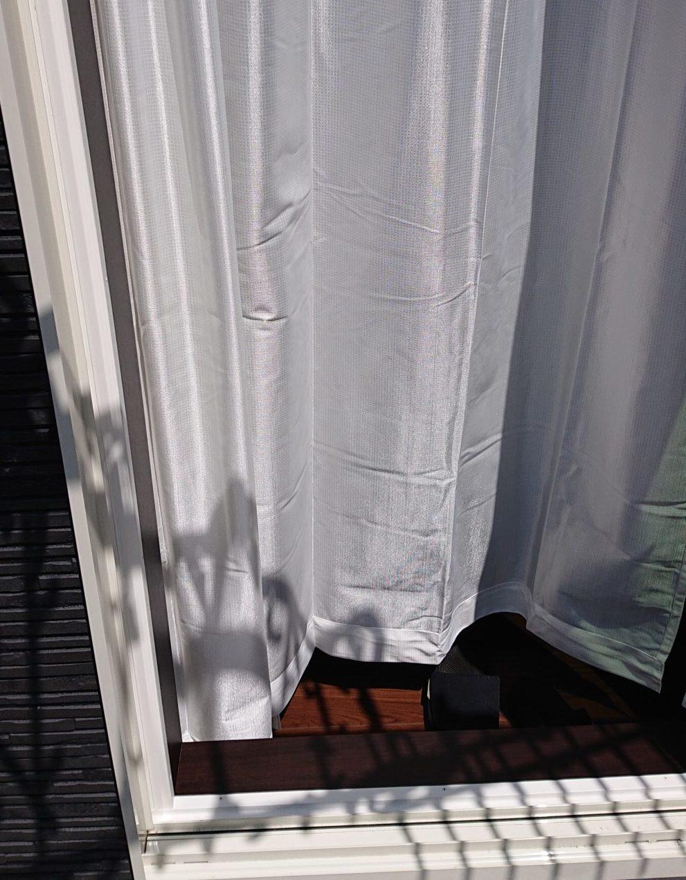 遮像ミラーレースカーテン 性能
