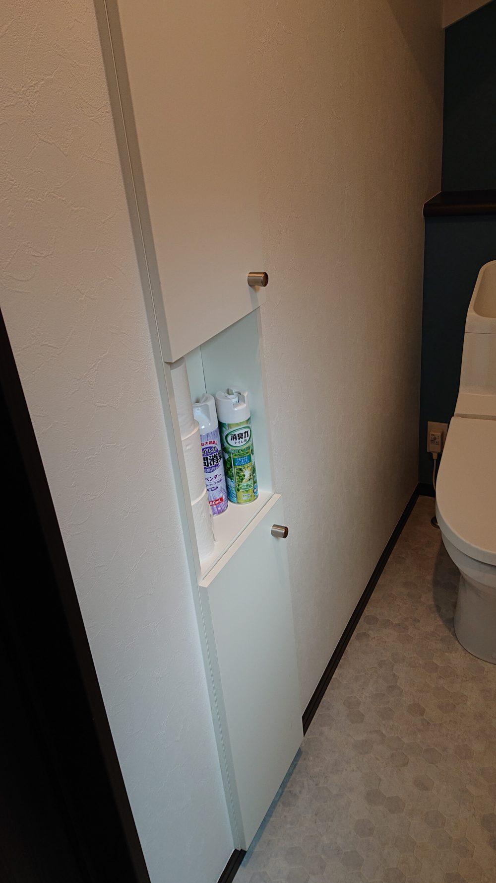 トイレの埋め込み収納