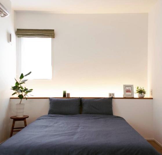 アーキテクチャルライト 寝室 照明テクニック