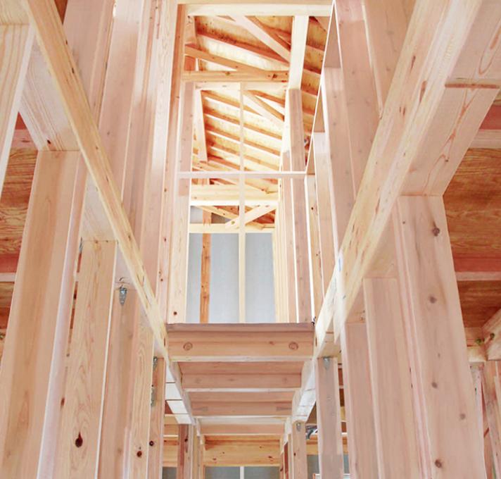 タマホームの木造軸組在来工法