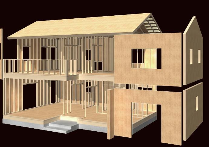 2×6工法(木造パネル)