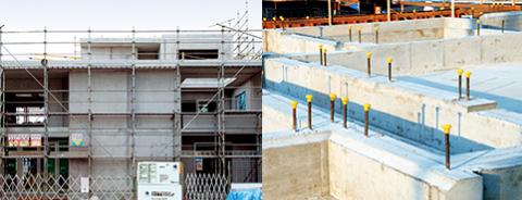 大成建設ハウジングのコンクリート住宅パルコン