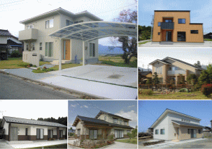 遠藤建設の商品ラインアップ