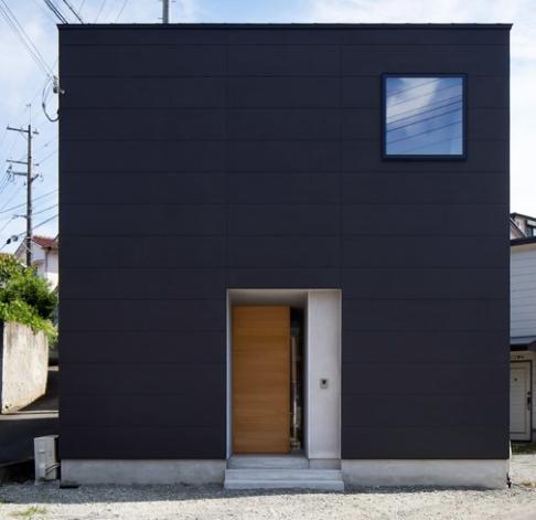 キューブ型の家