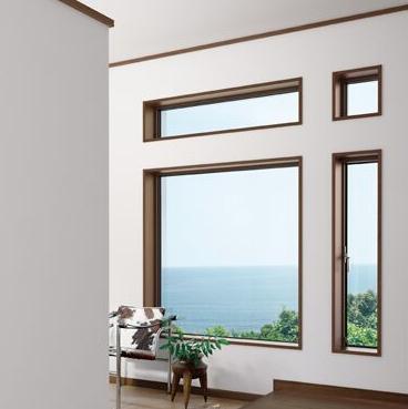 ペットのための窓配置